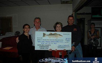 4th Annual High Tides Striper Tournament Results