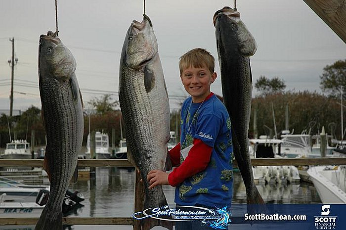 4th Annual High Tides Striper Tournament